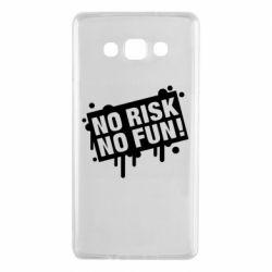 Чохол для Samsung A7 2015 No Risk No Fun