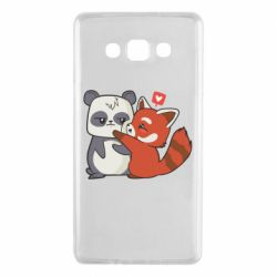 Чохол для Samsung A7 2015 Panda and fire panda