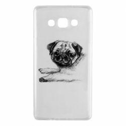 Чохол для Samsung A7 2015 Pug drawing