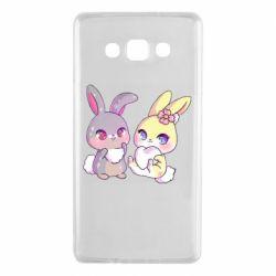 Чохол для Samsung A7 2015 Rabbits In Love