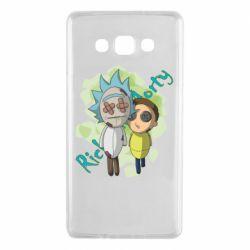 Чохол для Samsung A7 2015 Rick and Morty voodoo doll