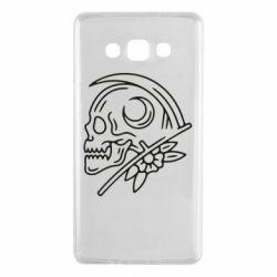 Чохол для Samsung A7 2015 Skull with scythe