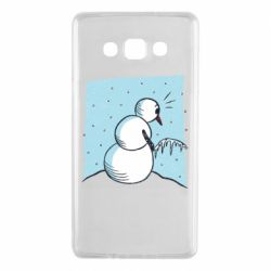 Чохол для Samsung A7 2015 Snowman. It's Cold!