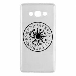 Чохол для Samsung A7 2015 Sun in runes