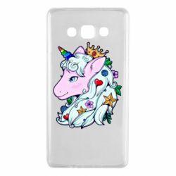 Чохол для Samsung A7 2015 Unicorn Princess