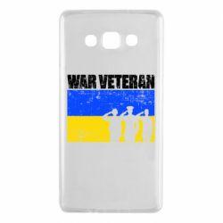 Чохол для Samsung A7 2015 War veteran