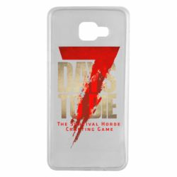 Чохол для Samsung A7 2016 7 Days To Die