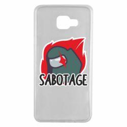 Чохол для Samsung A7 2016 Among Us Sabotage