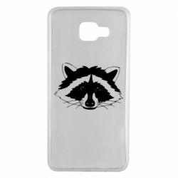 Чохол для Samsung A7 2016 Cute raccoon face
