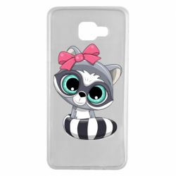 Чехол для Samsung A7 2016 Cute raccoon