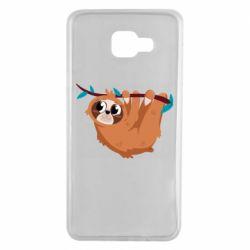 Чохол для Samsung A7 2016 Cute sloth
