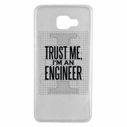 Чохол для Samsung A7 2016 Довірся мені я інженер
