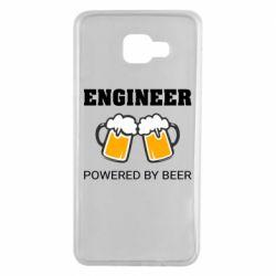 Чохол для Samsung A7 2016 Engineer Powered By Beer