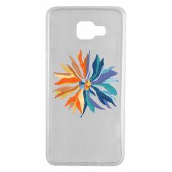 Чохол для Samsung A7 2016 Flower coat of arms of Ukraine