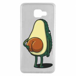 Чохол для Samsung A7 2016 Funny avocado