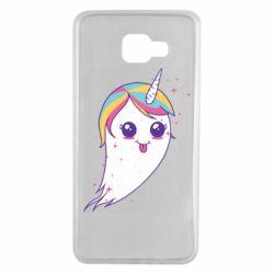 Чохол для Samsung A7 2016 Ghost Unicorn