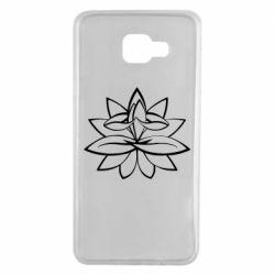 Чохол для Samsung A7 2016 Lotus yoga