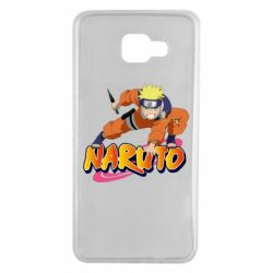 Чохол для Samsung A7 2016 Naruto with logo