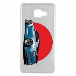 Чехол для Samsung A7 2016 Nissan GR-R Japan
