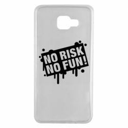 Чохол для Samsung A7 2016 No Risk No Fun