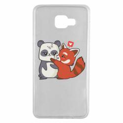 Чохол для Samsung A7 2016 Panda and fire panda