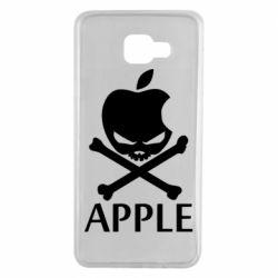 Чехол для Samsung A7 2016 Pirate Apple