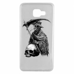 Чехол для Samsung A7 2016 Plague Doctor graphic arts