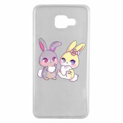 Чохол для Samsung A7 2016 Rabbits In Love