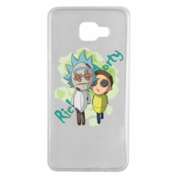 Чохол для Samsung A7 2016 Rick and Morty voodoo doll