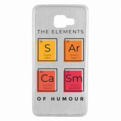 Чохол для Samsung A7 2016 Sarcasm