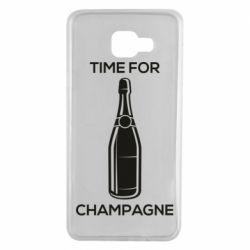 Чохол для Samsung A7 2016 Time for champagne