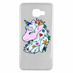 Чохол для Samsung A7 2016 Unicorn Princess