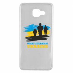 Чохол для Samsung A7 2016 War veteran оf Ukraine