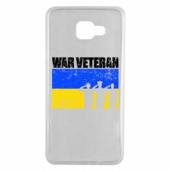 Чохол для Samsung A7 2016 War veteran
