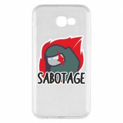Чохол для Samsung A7 2017 Among Us Sabotage