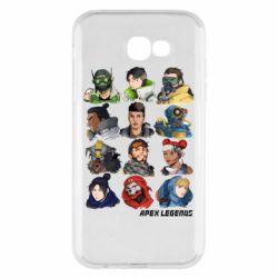 Чохол для Samsung A7 2017 Apex legends heroes