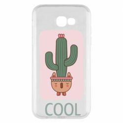 Чехол для Samsung A7 2017 Cactus art