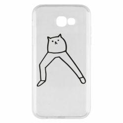 Чохол для Samsung A7 2017 Cat in pants