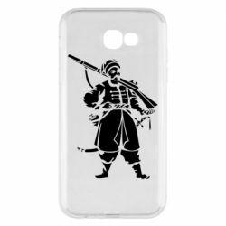 Чехол для Samsung A7 2017 Cossack with a gun