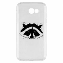 Чохол для Samsung A7 2017 Cute raccoon face