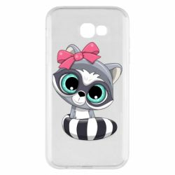 Чехол для Samsung A7 2017 Cute raccoon