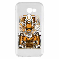 Чехол для Samsung A7 2017 Deer On The Throne