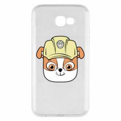 Чохол для Samsung A7 2017 Dog in helmet