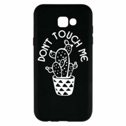 Чехол для Samsung A7 2017 Don't touch me cactus