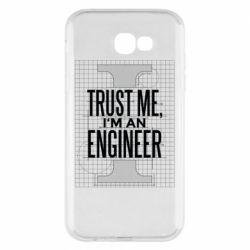 Чохол для Samsung A7 2017 Довірся мені я інженер
