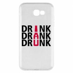 Чехол для Samsung A7 2017 Drink Drank Drunk
