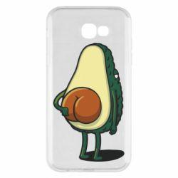 Чохол для Samsung A7 2017 Funny avocado
