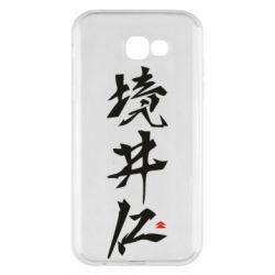Чохол для Samsung A7 2017 Ghost Of Tsushima Hieroglyphs