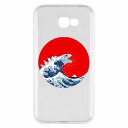 Чохол для Samsung A7 2017 Godzilla Wave