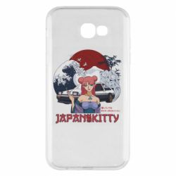 Чохол для Samsung A7 2017 Japan Kitty
